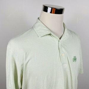 Peter Millar Large Seaside Wash Golf Polo Shirt